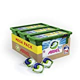 Ariel 3en1 Pods Ecodoses Alpine - Lessive Doses - 114 lavages (pack de 3x38 capsules)