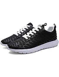 NEWZCERS El acoplamiento del resbalón del resbalón-en la plataforma de los zapatos de la plataforma de las mujeres calza la zapatilla de deporte, morado, 36