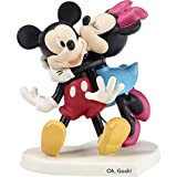 Precious Moments Disney Mickey and Minnie Figurine Figur, Porzellan, Mehrfarbig, One Size