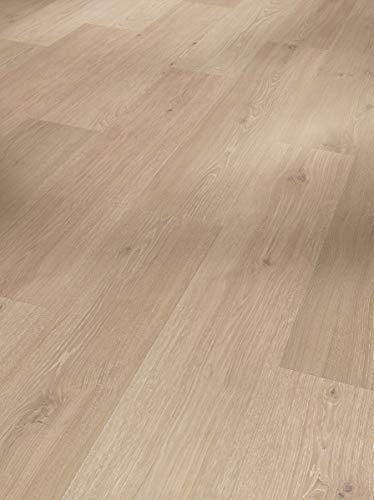 Parador Klick Vinyl Bodenbelag Classic 2030 Eiche natural mix grau Landhausdiele Holzstruktur 1,825m², hochwertige Holzoptik mittel grau 9,6mm, einfache Verlegung