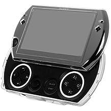 Sony® PSP GO Crystal Case - 100% Transparente Shell Funda Duro Protectora Sólido para Fascia Frontal - Diseñado por el G-HUB® exclusivamente para Sony Playstation PSP GO Consola de Juegos Portátil (PSP-Go Modelo)