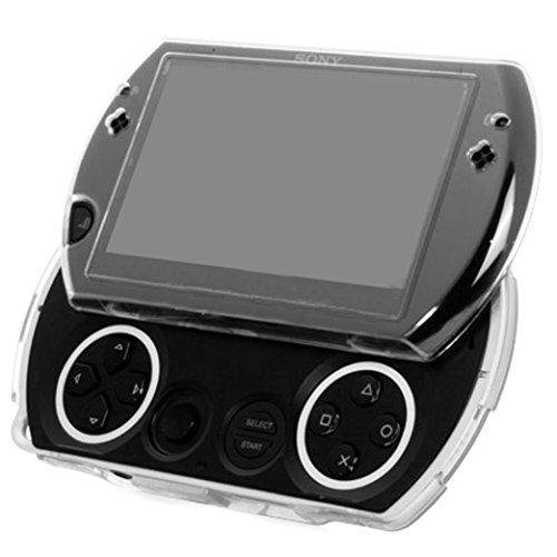Sony® PSP GO Crystal Case - 100% KRYSTALKLAAR Hard Shell Schutzhülle - Voll Transparent Fest Faszie Hülle von G-HUB® exklusiv für die Sony PlayStation Portable Handheld Spiele-Konsole (PSP-Go Modell) konzipiert Psp-gel-fall