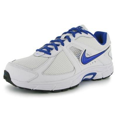 Nike Dart 9 443865103, Running Homme Blanc et bleu