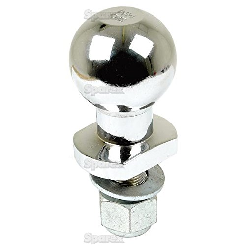 Kugelkupplung Tow Ball Pin 50 mm Universal Chrom Quad ATV Heavy Duty 3/4