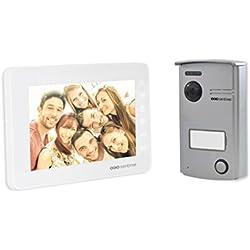 SCS Sentinel VisioDoor 7 Interphone vidéo filaire Blanc