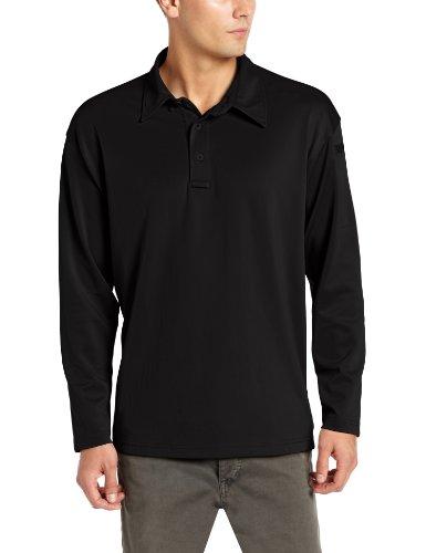 PROPPER Herren I.C.E. Long Sleeve Performance Polo Shirt Schwarz