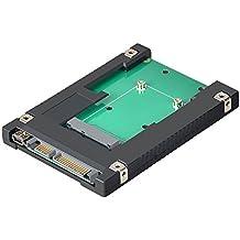 ELUTENG Adaptador mSATA a SATA 2.5 Conversor mini USB a SATA para 27mm / 50mm / 70mm SSD