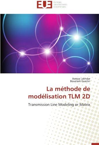 La méthode de modélisation tlm 2d par Asmaa Lakhdar