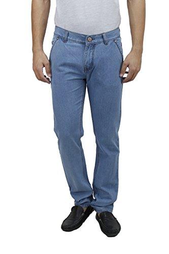 SAVON-Mens-Slim-Fit-Blue-Denim-Jeans-For-Men