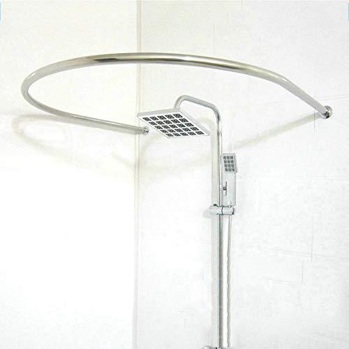 GaoYunQin DUXX Duschvorhangstange Saubere Badezimmer U-förmige Duschvorhangstange Dicke Edelstahl Duschvorhangstange Hängende Stange