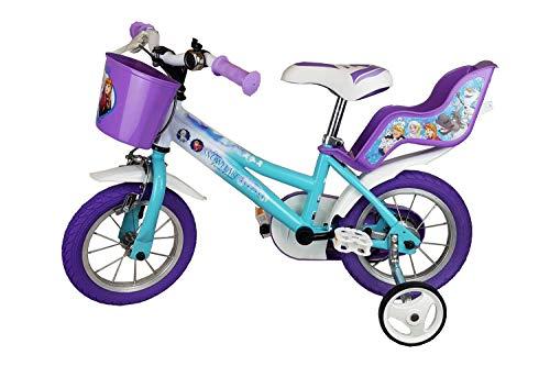 "Dinobikes Disney Frozen Anna & ELSA KINDERFAHRRAD Fahrrad 14\"" Zoll"