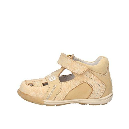 BALDUCCI sandali bambino beige pelle pelle scamosciata AF346 (20 EU)
