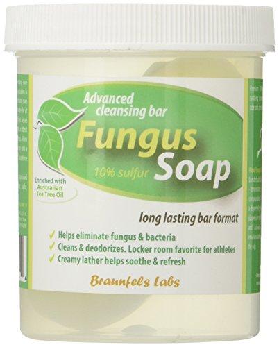 Fungal Soap - Tinea Versicolor, Tinea Corporis, Foot Tinea (Athletes Foot), Tinea Cruris (Jock Itch)