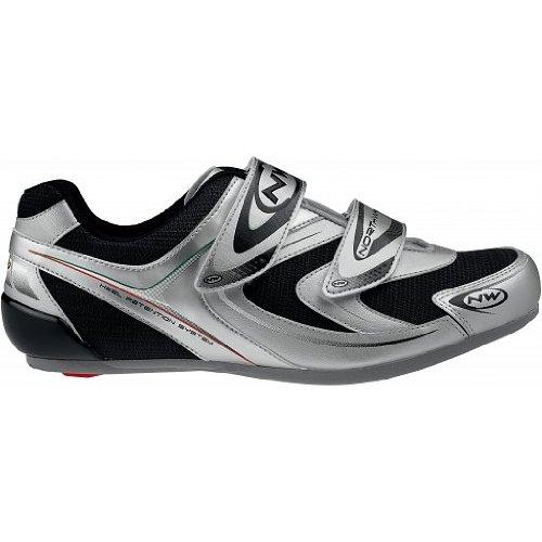 Northwave Zapatillas ciclismo Jet tamaño 41Color Silver/Black