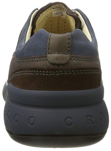 Ecco Cross X, Sneakers Basses Homme Marron (Coffee/marine/coffee)