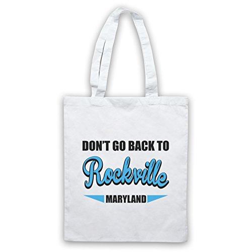 Inspiriert durch REM Rockville Inoffiziell Umhangetaschen Weis