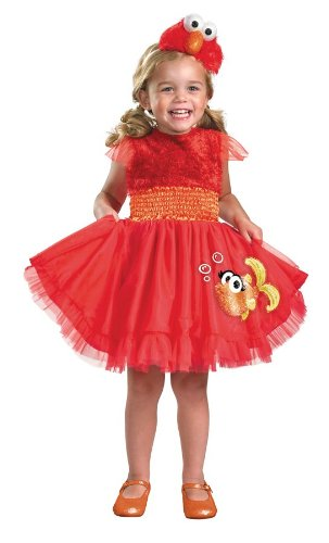 Toddler And Baby Frilly Elmo Girls Costume