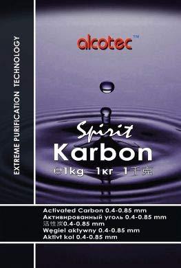 AlcoTec Aktivkohle Spirit Karbon 1kg