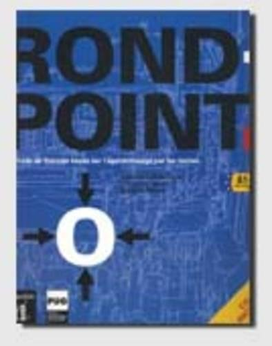ROND POINT 1 - NIV. A1-A2 - LIVRE ELEVE + CD AUDIO
