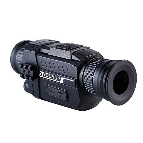 ningfulu101 720P Digital Nachtsichtbrille 5x35 Monokular HD Imaging Infrarotkamera Teleskop Nachtjagd Beobachten (schwarz) Digitale Multifunktions-imaging