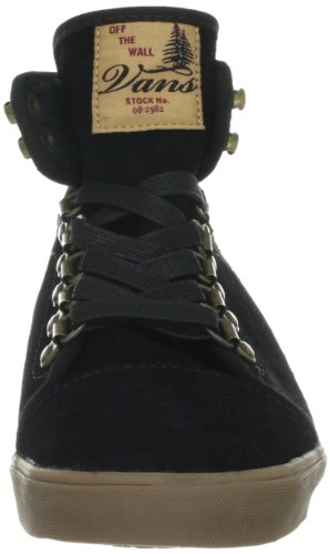 Vans Hadley Hiker VNKR67I, Sneaker donna Nero (Schwarz ((Hiker) black/tan))
