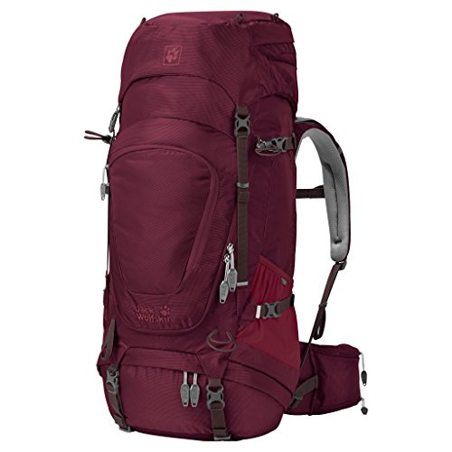 Jack Wolfskin Packs Frauen-Trekkingrucksack Highland Trail XT 45 2405 garnet red