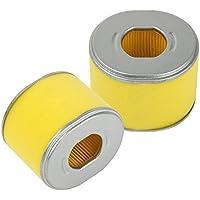 Paquete de 2 filtros de aire OuyFilters de recambio para motor de cortacésped Honda GX240, GX270, 8HP, 9HP