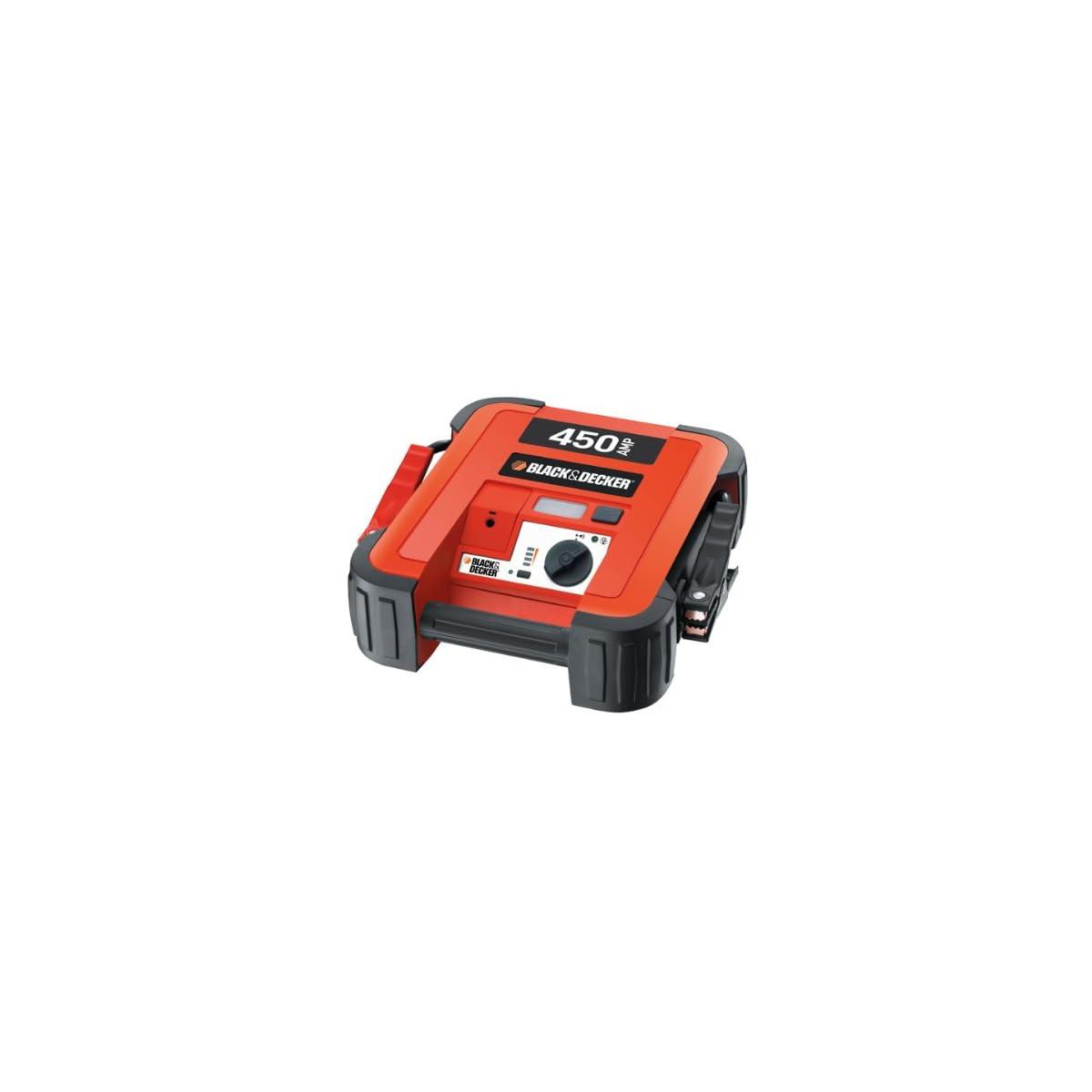 41SeH5GnVlL. SS1200  - Black & Decker BDJS450 Arrancador de Batería 450 A