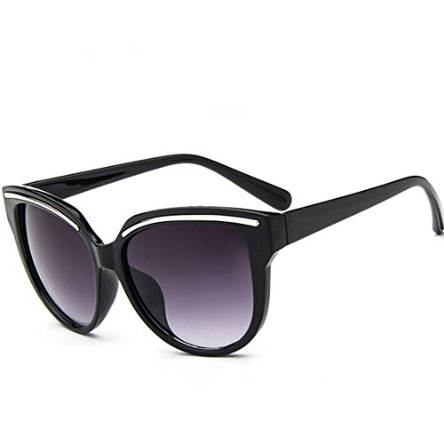 Z-P New Vintage Elegant For Women Reflective UV400 Round Sunglasses 55MM