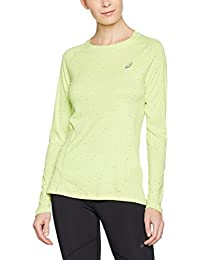 Asics - Lite-Show Longsleeve T-shirt de running pour femmes (jaune clair) - XS