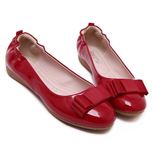 XTIAN , chaussons d'intérieur femme Rouge