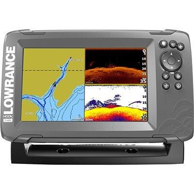 Hook2-7 Combo Landkarten DownScan Lowrance Combo Gps