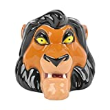 Ideal CASA Tasse Disney 3D Scar El Roi Leon, céramique, 375 ML