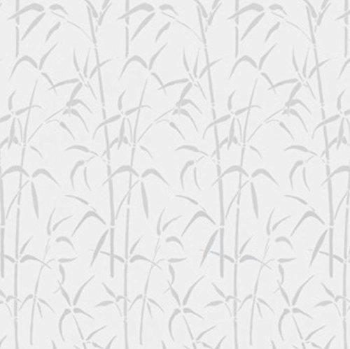 Preisvergleich Produktbild Selbstklebend Voile Wirkung Fenster Film-45und 65cm Breite-150und 1500cm lang, DAMAST, 45X150CM