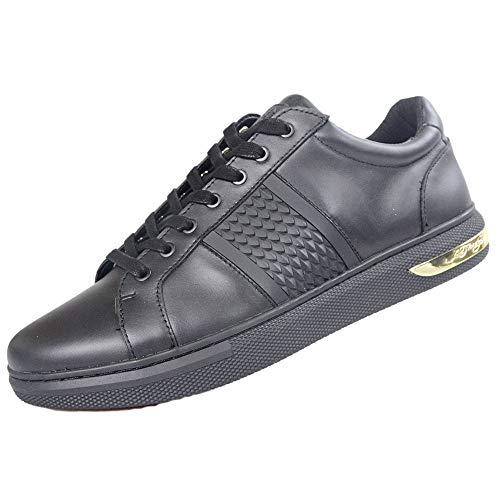 Ed Hardy , Herren Sneaker Schwarz Schwarz, Schwarz - Schwarz - Größe: 45 -