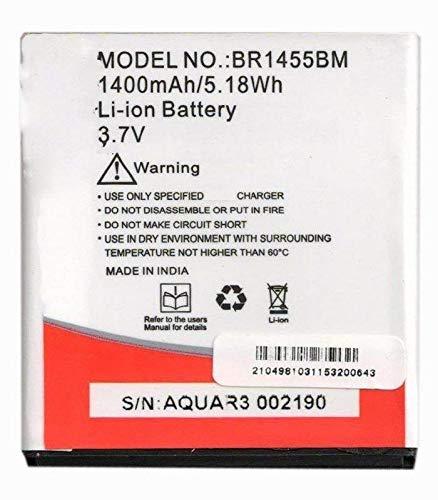 Replacement Internal Battery for Intex Aqua R3 Br1455bm1400 Mah Li-Ion
