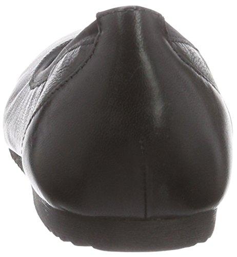 Tamaris 22107, Ballerines femme Noir  (Noir Uni 007)