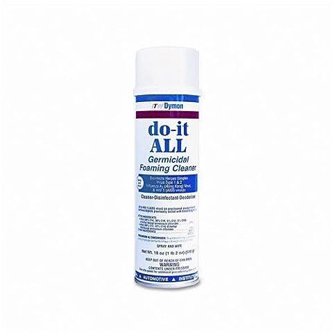 ITW Dymon?do-it-ALL Germicidal Foaming Cleaner, 20oz Aerosol Can by Itw Dymon