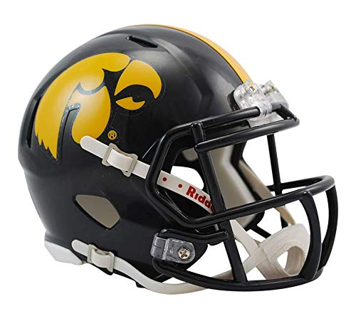 NCAA Speed Mini-Helm, Herren Unisex Damen, 3002058, Iowa Hawkeyes, 7.5