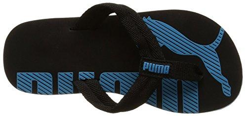 Puma Epic Flip V2, Tongs Garçon Noir (Black/Atomic Blue)