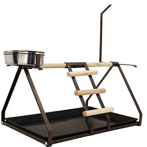 tabletop-parrot-playstand-toy-hanger-feeders-coppertone