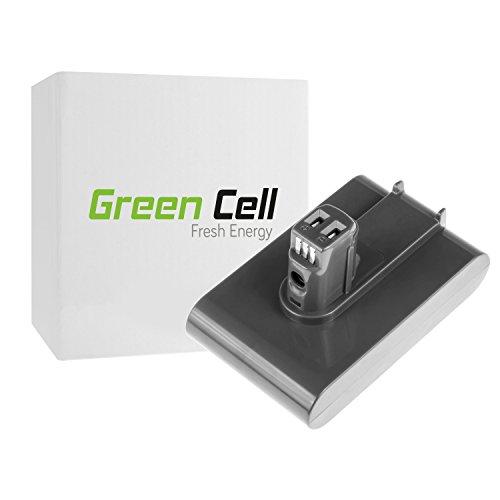 Green Cell® Staubsauger Akku für Dyson DC35 ( Li-Ion Zellen 2 Ah 22.2V Type A )