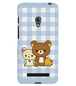 Asus Zenfone 5 MULTICOLOR PRINTED BACK COVER FROM GADGET LOOKS
