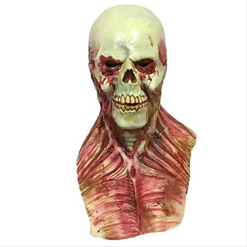 Wbdd Maske Blutige Zombie Maske Halloween Beängstigend Masken Party Cosplay Schädel Teufel Horror Maskemaske Maskerade Mascara Ghost Terror Masker Latex (De Halloween Mascaras De Terror)