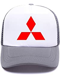 Mitsub Car Logo C13WP1 Trucker Hat Baseball Caps Gorras de Béisbol for Men  Women Boy Girl 576cc41e743