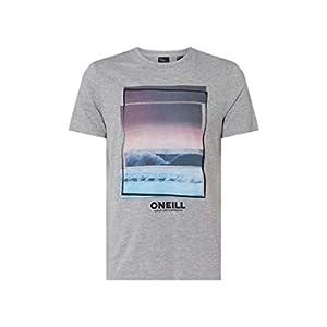 O'Neill - Maglietta da Uomo Lm Beach Tees, Uomo, 9A2358-8001-XL, Bianco, XL