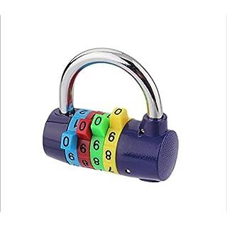 Arpoador Color 4-digit password padlock Gym password lock Anti-theft wardrobe lock 1pc