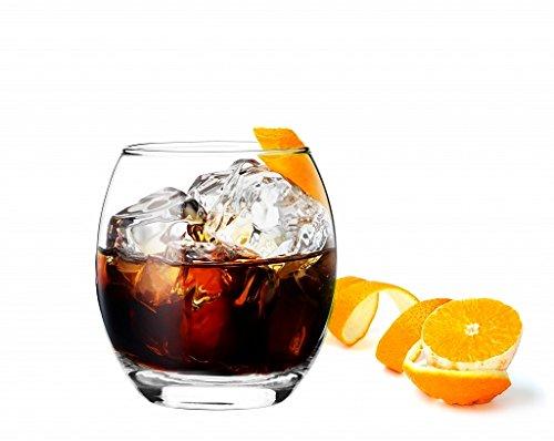 6 Verres à Whisky 300 ml jus Verres Verres à eau Verres à Jus Verre Whisky Becher
