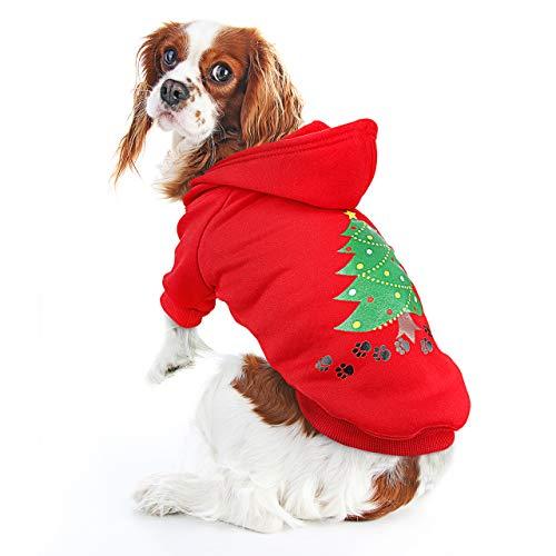 ONEISALL Hundepullover mit Kapuze, für Halloween, Weihnachten, Festival, Party -