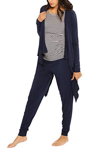 Mutterschafts Angel Kostüm - Angel Umstandsmode 3-teiliges Relax-Outfit: Stillhemd -